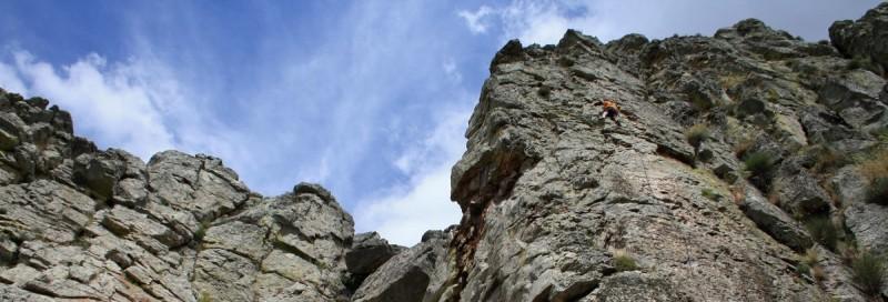 panoramica escalada en roca