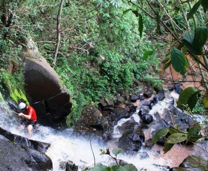 Descenso de Barrancos en Paraguay, Ype juh, Reserva de la Biosfera de Mbaracayú