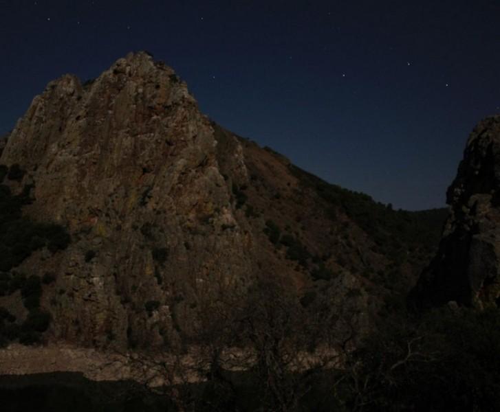 monfragüe parque nacional extremadura salto del gitano nocturna astronomía