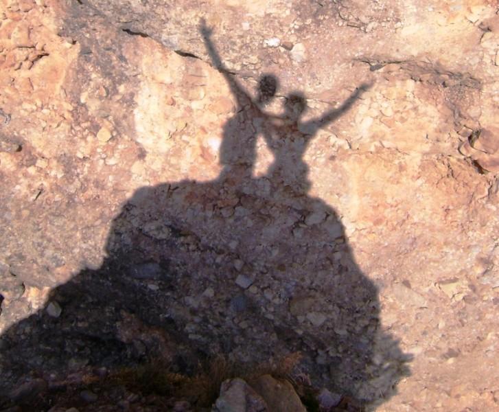 Escalada en roca en el puro de Riglos, Aragon