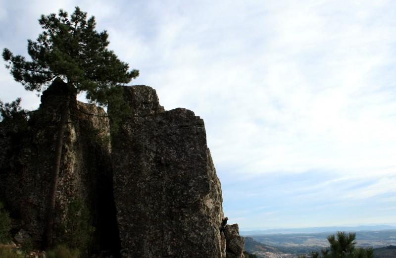 Escalada en roca aventura Las Villuercas