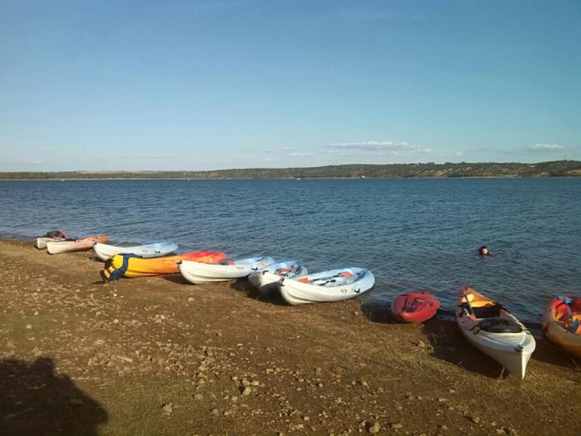 piraguas tajo herramientas felicidad sonreir origen deporte naturaleza Extremadura turismo Cáceres